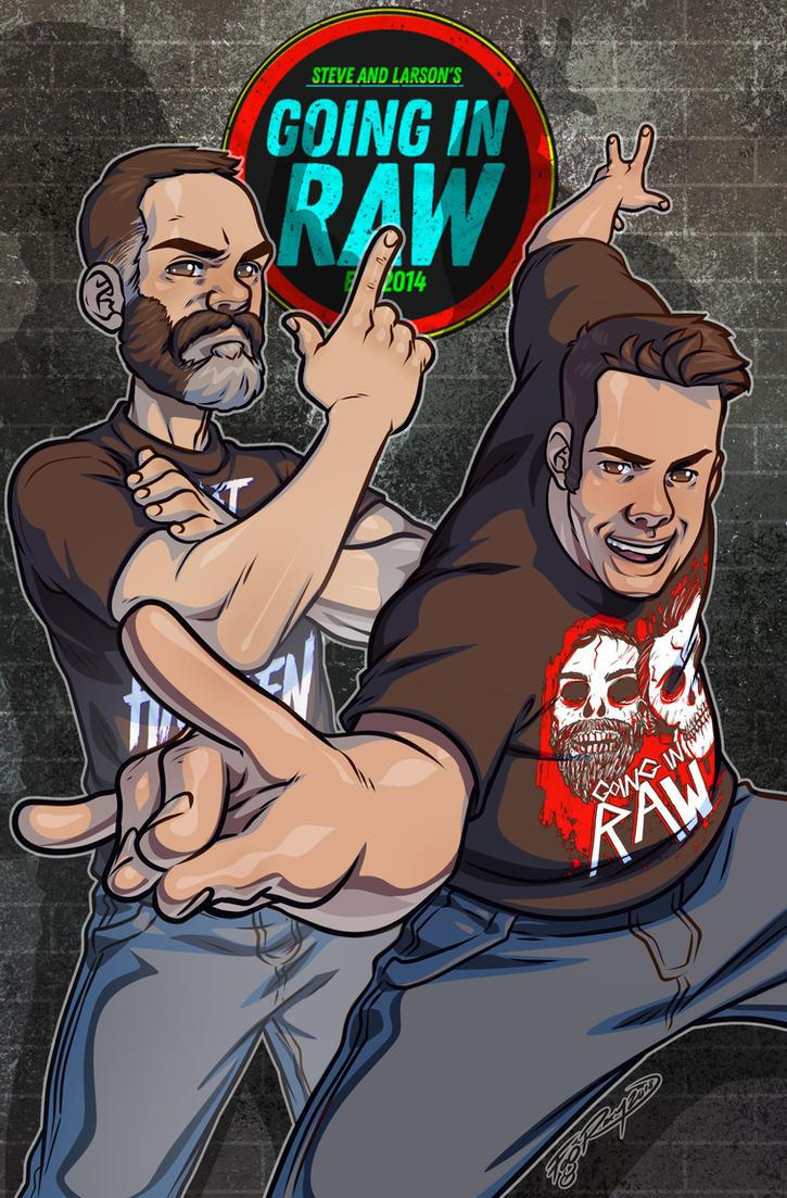 Steve And Larson GIR by FooRay