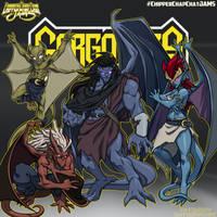 CCC-jams 90s reboot  Gargoyles