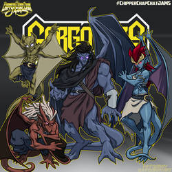 CCC-jams 90s reboot  Gargoyles by FooRay