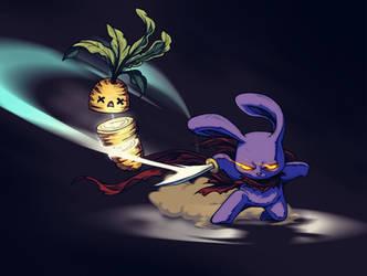 Bunny Tempus Foo Collab by FooRay