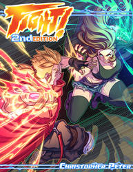 FIGHT! 2nd Edition Kickstarter Cover by FooRay