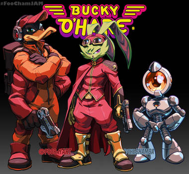 BuckyOhare FooChamJam Collab