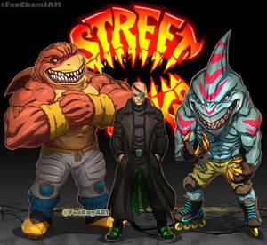 RebootJam STREET SHARKS FooMix
