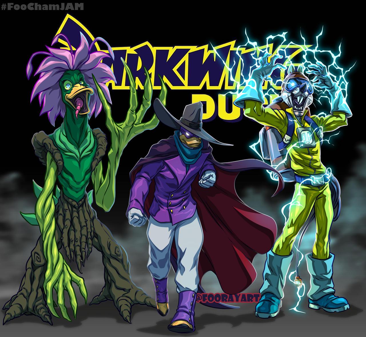 RebootJam DarkWing Duck FooMix