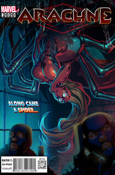 Arachne Cover Commission