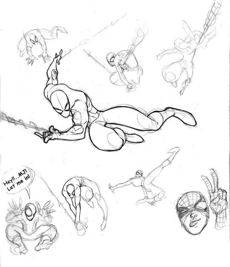 Web Head Sketchez by FooRay