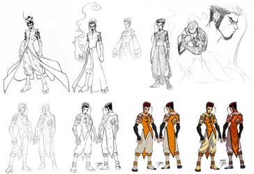 Evolution ofa Character:FooRay by FooRay