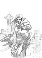Alexandru 'kuro' Sketch by FooRay
