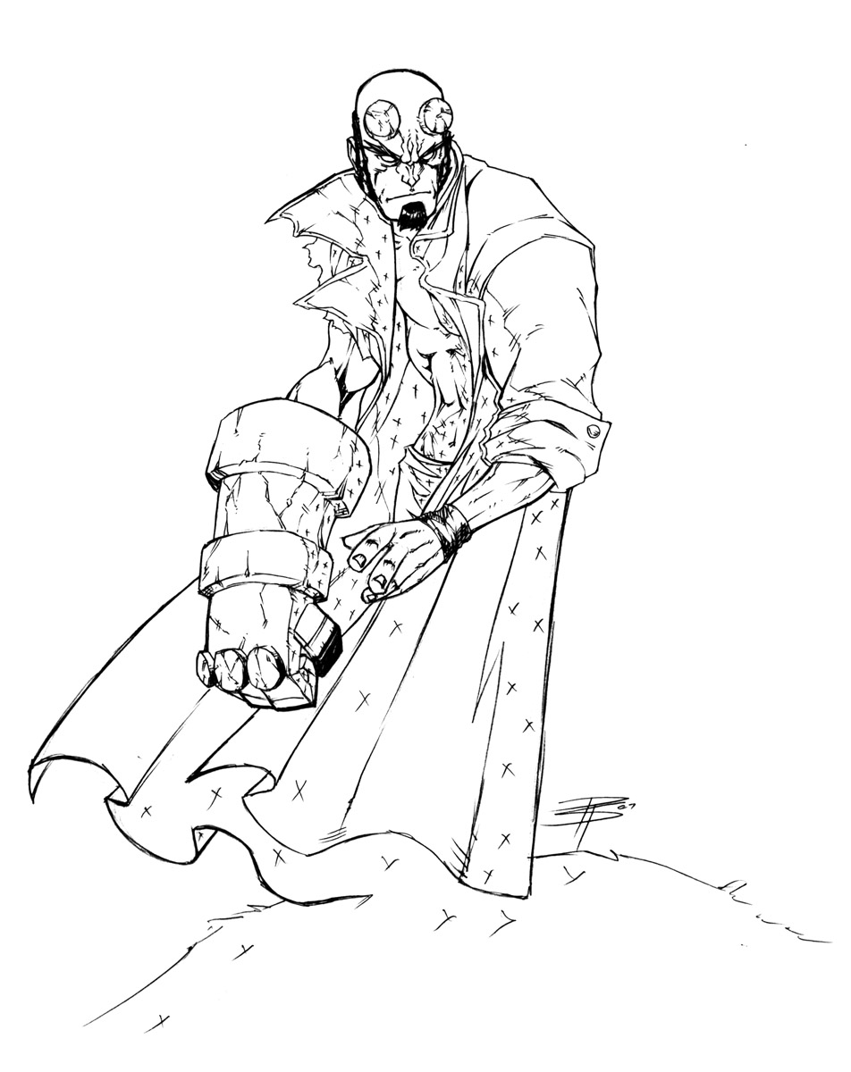 HellBoy SkEtCh by FooRay