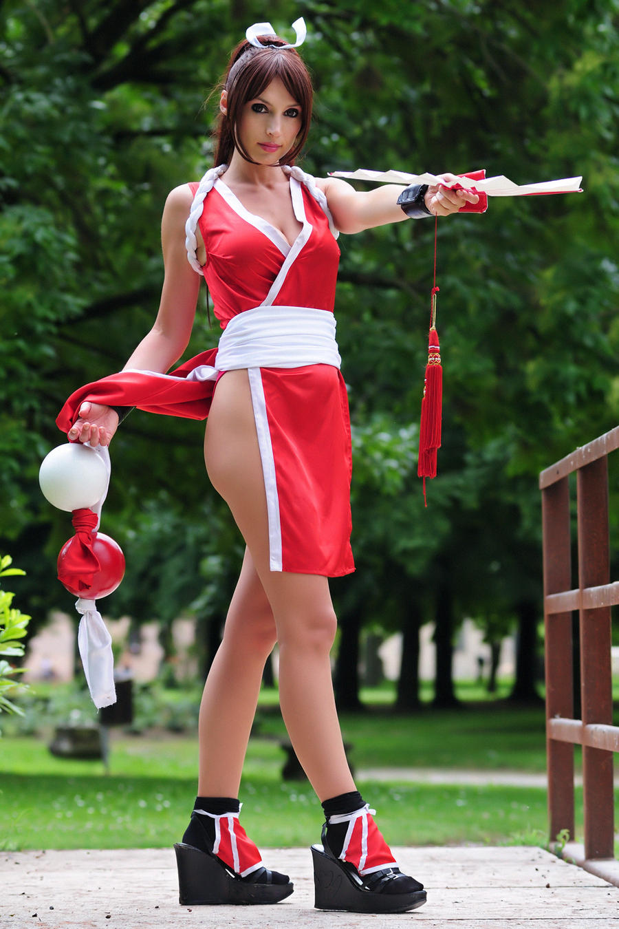 Mai Shiranui the kunoichi by Giorgiacosplay