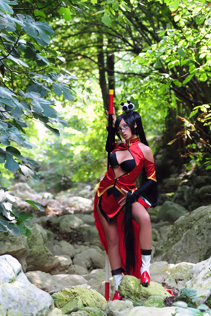 Litchi in the wood by Giorgiacosplay