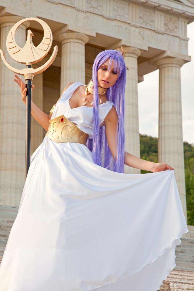 Athena , justice goddess by Giorgiacosplay
