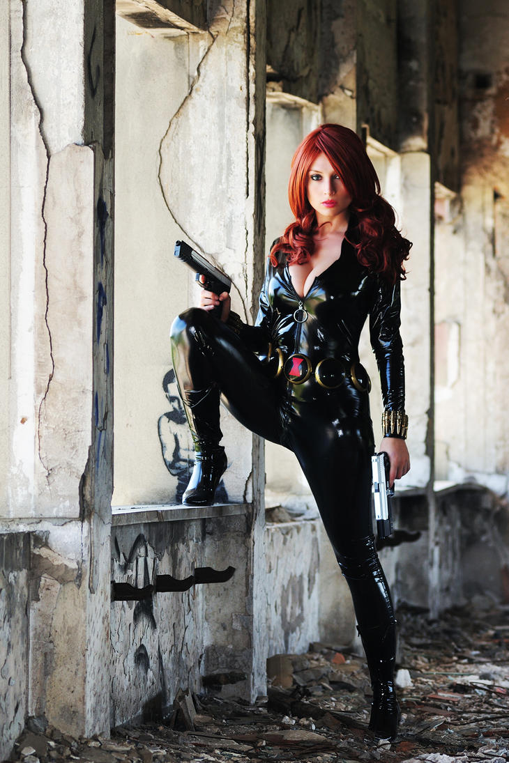 BLACK WIDOW TOTALLY SPY by Giorgiacosplay
