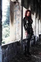 Black widow, dark light by Giorgiacosplay
