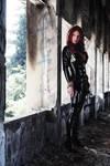 Black widow, dark light