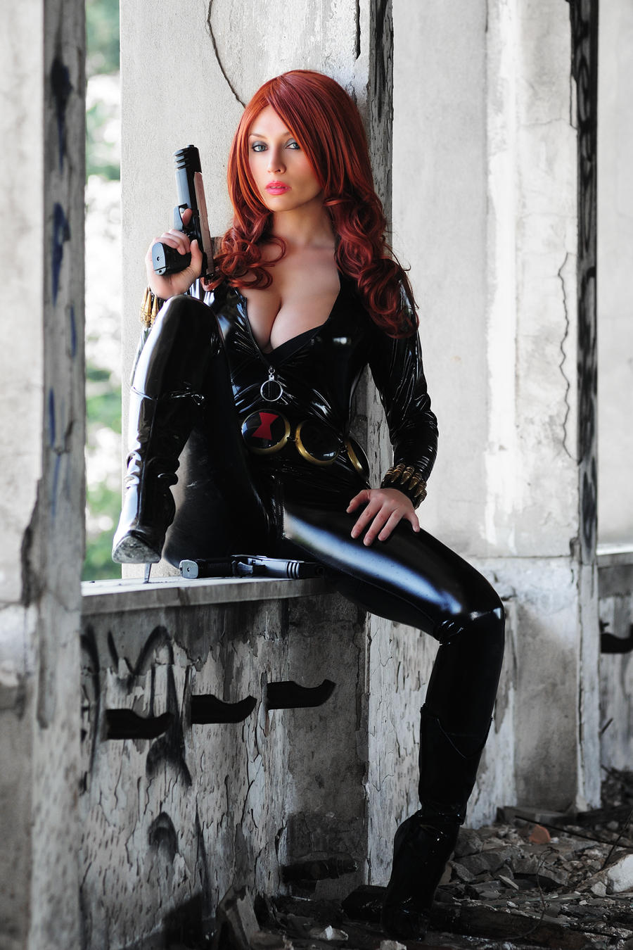 BLACK WIDOW - NATASHA ROMANOVA by Giorgiacosplay