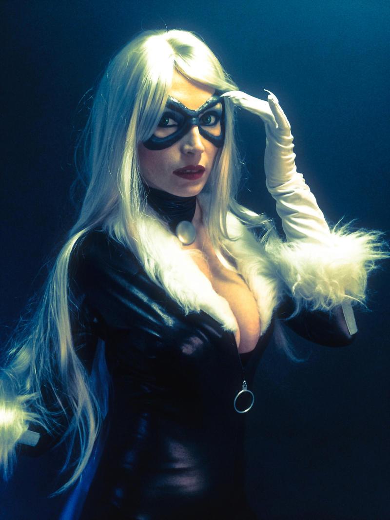 BLACK CAT by Giorgiacosplay