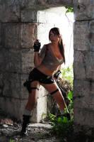 Lara Croft Legend Tomb raider by Giorgiacosplay