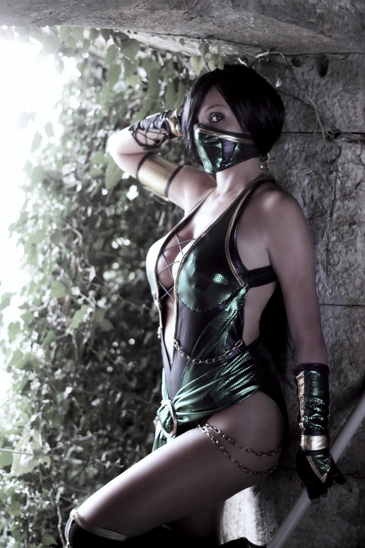 Jade Mortal Kombat by Giorgiacosplay