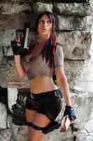 Lara Croft,Tomb Raider Legend : dangerous mission! by Giorgiacosplay