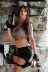 Lara Croft,Tomb Raider Legend : dangerous mission!