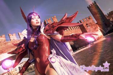 Alcyone the sorceress, Magic Knight Rayearth