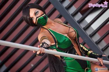 Jade, Mortal Kombat..fatality by Giorgiacosplay