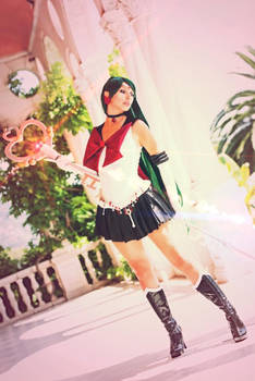 Sailor Pluto the guardian of time