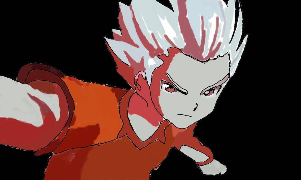 Axel Blaze Gouenji Shuuya Fanartinazuma Eleven By