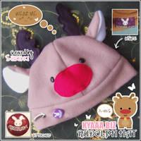 Rudolph Hat - Christmas Hat by shiricki