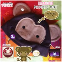 Monkey Hat by shiricki