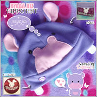 Hippo Hat by shiricki