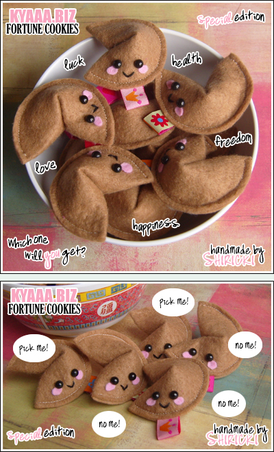 kyaaa.biz Fortune Cookies by shiricki