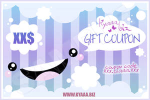 kyaaa.biz Gift Coupon by shiricki