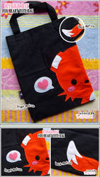 Fox With Love Tote Bag 2