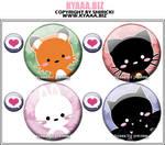 kyaaa.biz Buttons - Cute Combi