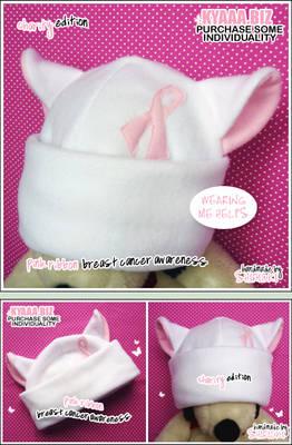 Charity Cat Hat - Pink Riddbon