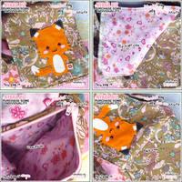Fox Bag - Wonder Flowers by shiricki