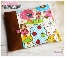 Cherry Pit Pillow - Cute Zoo by shiricki