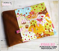 Cherry Pit Pillow - Colorful by shiricki