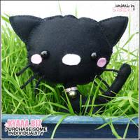 Cute Plushie Cat - Bijou by shiricki