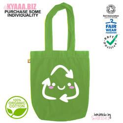 kyaaa.biz - Oganic Cute Recycling Tote Bag Shopper