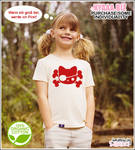Kids Pirate Cat Organic Shirt
