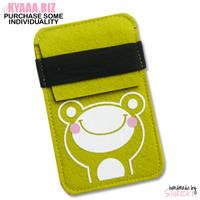Smartphone Case - Frog by shiricki