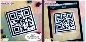 Patch - QR-Code - Custom Text by shiricki