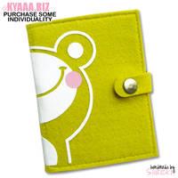 Notebook - Frog by shiricki