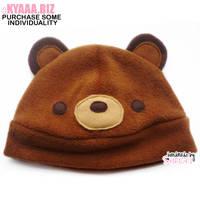 Hat - Bear - Chocolate by shiricki