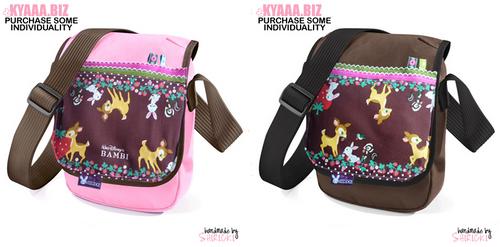 Shoulder Bag - Bambi - Pink by shiricki