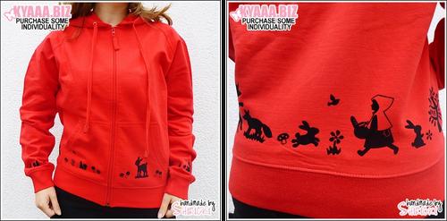Hoodie - Red Riding Hood by shiricki