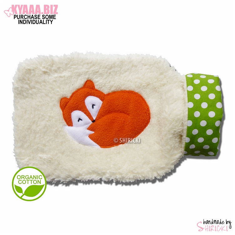 Hot Water Bottle Cover - Sleepy Fox by shiricki